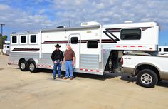 Thanks to Bob Dolqueist from Brooksville, FL on his purchase of this new 4-Star 3H with 10' Outlaw Living Quarters from Buddy Maxwell at Gulf Coast 4 Star Trailer Sales LLC!!  877.543.0733