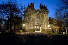 Gatehouse to Lancaster Castle, Lancaster, Lancashire, England