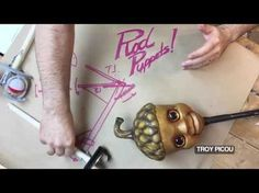 How to make trigger-operated rod puppets.