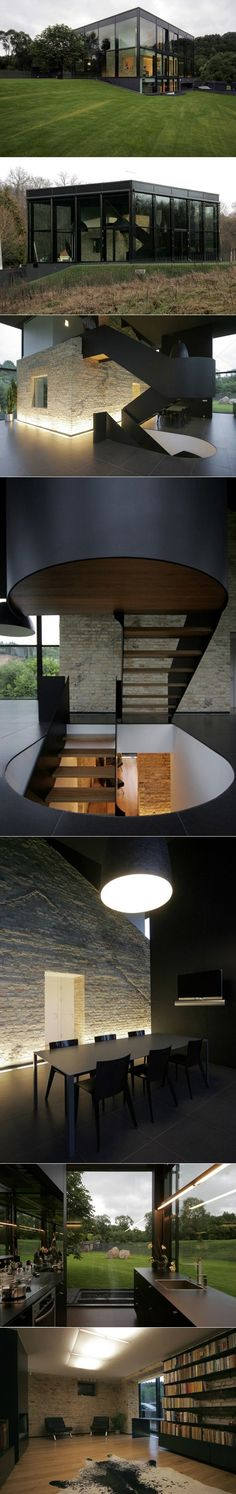 ARCHITECTURE >>> Family House par Architektu Biuras G.Natkevičius ir partneriai - Journal du Design