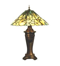Meyda Tiffany 50817 Tiffany Cowslip Table Lamp