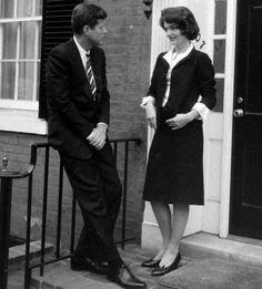 JFK and Jackie at 3307 N. Street.