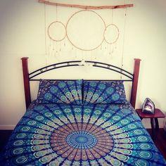 Mandala duvet cover queen size hippie new by jaipurmandala on Etsy