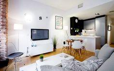 Loft Style Concept Apartment Design