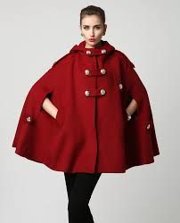 Image result for red militry style capes