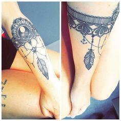 New ink 👌 #australia #adventure #ink #newink #tattoo #lace #feathers #anchor #pocahontas #newcastle #diabolikinktattoo #talent #livelifetothefullest #killerink #ink_ig #tattooartist #customink #art #girlswithink #inkedgirls #inkedup #girlswithtattoos ❤❤❤