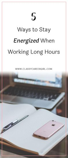 Career infographic & Advice 5 Ways to Stay Energized When Working Long Hours There are few days when we are . Image Description 5 Ways to Stay Energized Career Development, Personal Development, Professional Development, Working Overtime, Long Hours, Career Change, Time Management Tips, Work Life Balance, Career Advice