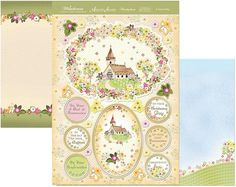 Hunkydory Milestones die cut toppers & card - A Joyous Day, religious, church, Easter, Christening, Confirmation