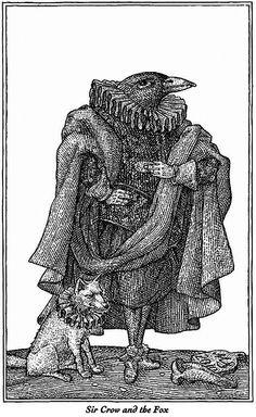 Sir Crow and the Fox