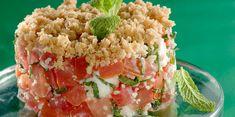 Crumble tomates chèvre léger