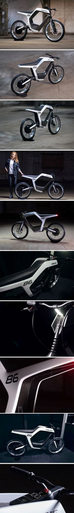 Minimal, and extremely lightweight, the Novus e-motorcycle boasts of an incredibly sleek outline of a frame that houses everything within it, from the battery and motor, to the suspension, to even the headlight and taillight, which are built flush into the form of the motorcycle. Despite this gravity-defying form, the Novus comes with a top speed of 60 mph and a range of 60 miles on a full charge.