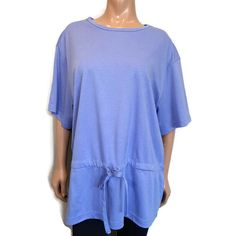 NWT Vtg Koret Francisca Top Womens Size 44 US Size 14 XL 1X Blue Short Sleeve #KoretFrancisca #Basic #Casual Vintage Shirts, Vintage Tops, Embroidered Shorts, Blue Shorts, Short Sleeve Blouse, Blouses For Women, Size 14, Button Up Shirts, Floral Tops