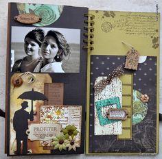 """Mon album """" les images du bonheur """" - последняя страничка"""