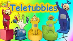 Teletubbies Finger Family | Teletubbies Family Finger Nursery Rhymes