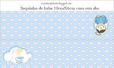 Kit Festa Batizado Menino Para Imprimir Grátis