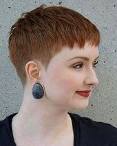 - All For New Hairstyles Really Short Haircuts, Short Spiky Hairstyles, Short Pixie Haircuts, Hairstyles Haircuts, Messy Short Hair, Super Short Hair, Short Grey Hair, Short Hair Cuts, Pixie Cut Round Face