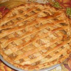 Aunt Carol's Apple Pie