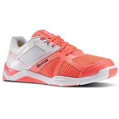 Reebok - Les Mills Studio Step Refresh Punch Pink/Ultimate Yellow/White/Black M41557 - Step to the beat in comfort with this innovative, new aerobic shoe. Constructed to flex, stabilize and support, it's the perfect way to lace up for your favorite LES MILLS™ studio classes.