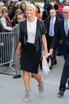 Crown Princess Mette-Marit of Norway attends the inauguration of the Revelations at The Grand Palais, Paris, France, 11 Sep 2013