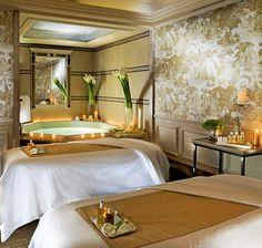 Treatment Room at the Spa George V, Four Seasons Paris