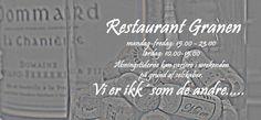 Restaurant Granen - hverdag