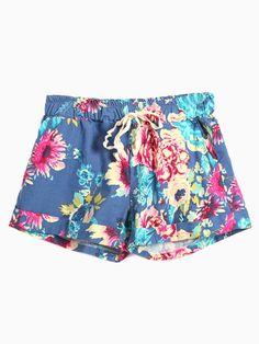 choies floral shorts