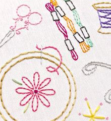 CRAFTOPIA - Embroidery Patterns
