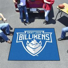 St. Louis University Tailgate Area Rug 5u0027 ...