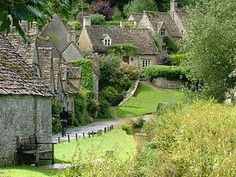 "Broadway, Bibury. The 19th century artist and poet William Morris described Bibury as ""the most beautiful village in England"". he world famous terrace of cottages known as Arlington Row was originally built as a sheep-house in the 14th century. It was converted in the 1600's to provide cottages for weavers who supplied cloth to the nearby Arlington Mill."