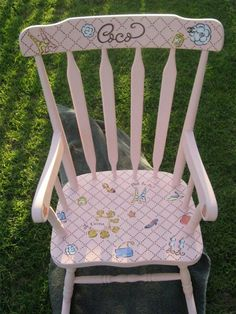 ooh la la chanel rocking chair for coco