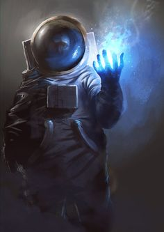 Astronaut Wizard by jordangrimmer.deviantart.com on @deviantART