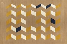 Tapis collection Chevrons, Camille Chevrillon (Tarnoÿ)