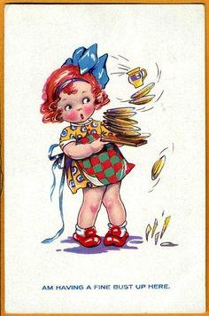 Agnes RICHARDSON? postcard via eBay