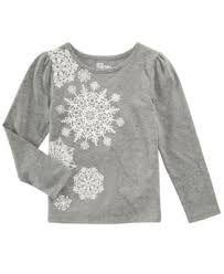 b3931fcc Image result for snowflake shirt Macy Gray, Kids Shirts, Tee Shirts,  Toddler Girls