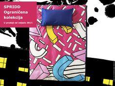 SPRIDD posteljina od satenskog pamuka vrlo je mekana i ugodna za spavanje. Na krevetu izgleda prekrasno jer ima naglašeni sjaj. :) www.IKEA.hr/SPRIDD #IKEAograničenekolekcije