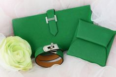 Hermes bamboo collections. Wallet sold