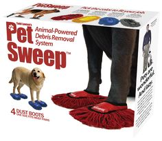 Pet Sweep - Todd Lawson's latest invention, the Pet Sweep, which will your pets cleaning the house independently.