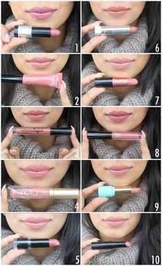 In color lipstick Red lipstick for fair skin Black Lip Liner 2 . - In color lipstick Red lipstick for fair skin Black lip liner 20191012 … – Lipstick in col - Dark Pink Lipstick, Neutral Lipstick, Lipstick For Fair Skin, Pink Lip Gloss, Pink Lipsticks, Lipstick Shades, Lipstick Colors, Lip Colors, Nude Lipstick