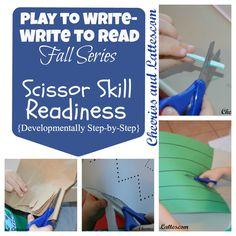 Scissor Skill Readiness Activities