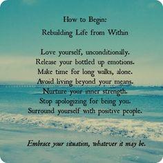 How to Begin...