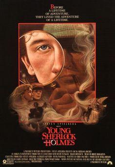 Young Sherlock Holmes (1985) Original One-Sheet Movie Poster