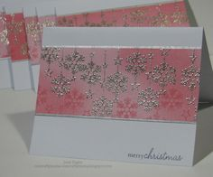 beautiful snowflake card