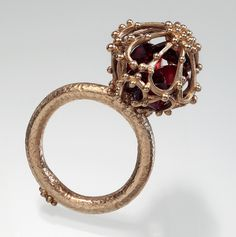 Alexandria Sphere Ring