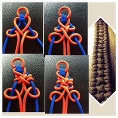 Tutorials by Dman Mcq Swiss Paracord: Paracord Braids, Paracord Bracelets, Bracelets For Men, Paracord Weaves, Paracord Tutorial, Paracord Ideas, Macrame Knots, Micro Macrame, Parachute Cord