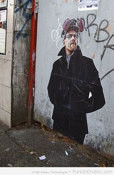 Breaking Bad street art