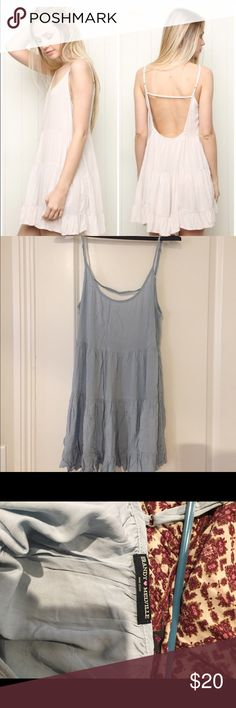 """Brandy Melville Light Blue Jada Light blue Jada in cotton material. No stains or tears -- worn less than five times. Authentic Brandy Melville. I'm 5'6"""" and this dress fits comfortably (i.e. not too short). Brandy Melville Dresses"""