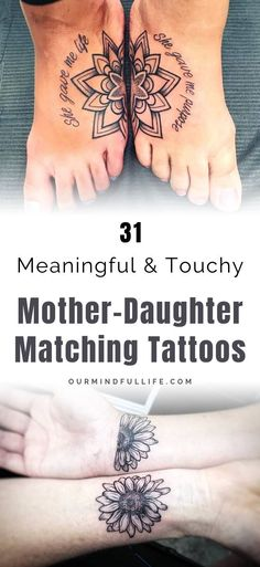 28e41cb966748 31 Meaningful Mother-Daughter Tattoo Ideas That Honor Your Bond With Mom-  OurMindfullLife.