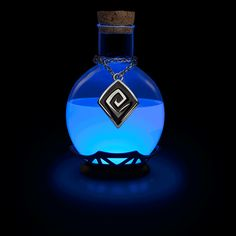 It's time to bring the potion home with you with this LED Potion Desk Lamp. It's like an old-fashioned tap-on/tap-off light except you tap this one to change modes: solid red, green, yellow, blue, or a slow fade across the spectrum.