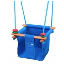 Solvej Baby and Toddler Swing Pacific Blue #EntropyWishList #PinToWin Can't wait to have a swing at home :)