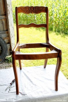 Diy Upholstered Dining Chairs how to recover dining room chairs | la casa | pinterest | room